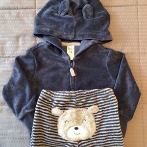 Carter's Baby Bear Terry Outfit